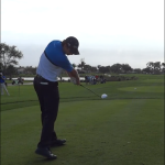 Extension swing Justin Rose