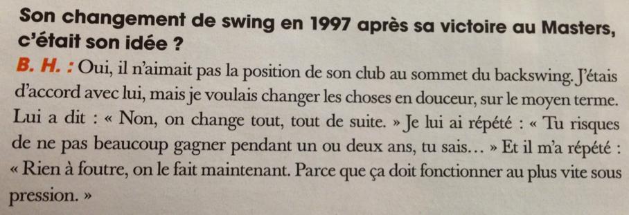 Butch Harmon - Tiger Woods 97